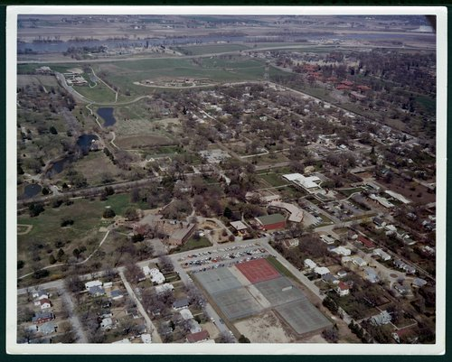 Aerial view of Menninger east campus in Topeka, Kansas - Page