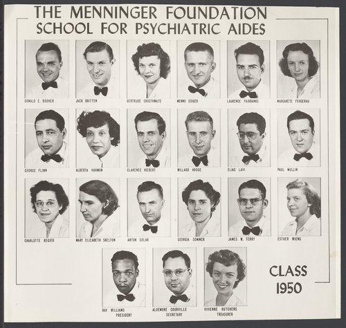 Menninger Foundation School for Psychiatric Aides in Topeka, Kansas - Page