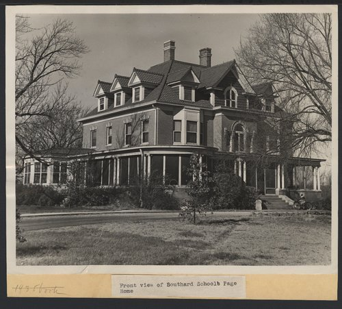 North House, Southard School at  Menninger in Topeka, Kansas - Page