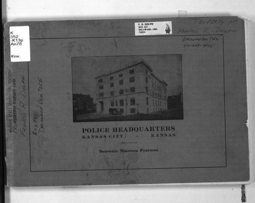 Annual souvenir Kansas City, Kansas, Police Relief Association - Page