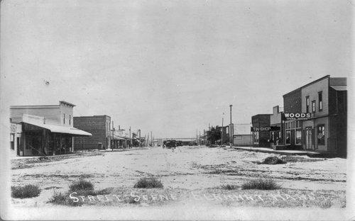 Street scene in Elkhart, Kansas - Page