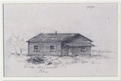 Pencil sketch - Page