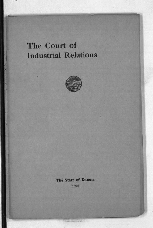 The Court of Industrial Relations - Page