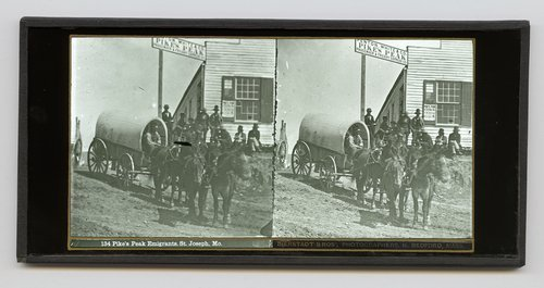 Pike's Peak emigrants, St. Joseph, Missouri - Page