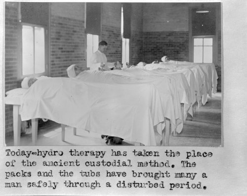 Early mental care treatment at Menninger in Topeka, Kansas - Page