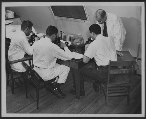 Menninger Clinic Neurology class, 1952, Topeka, Kansas - Page