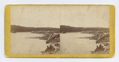Rail bridge across Kansas River - Page