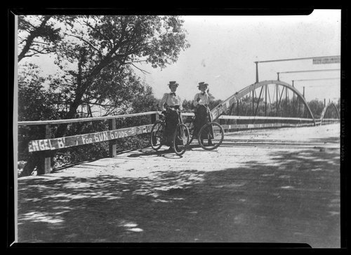 Blue River wagon bridge in Manhattan, Kansas - Page