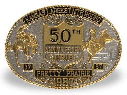 Pretty Prairie Rodeo belt buckle - Page