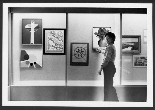 Menninger art displays in the Tower Building, Topeka, Kansas - Page