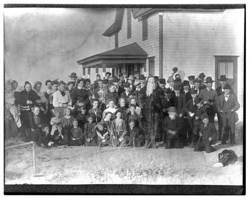 Swedish settlers in Logan County, circa 1902