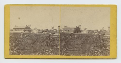 Depot, Lawrence, Kansas, 323 miles west of St. Louis, Mo. - Page