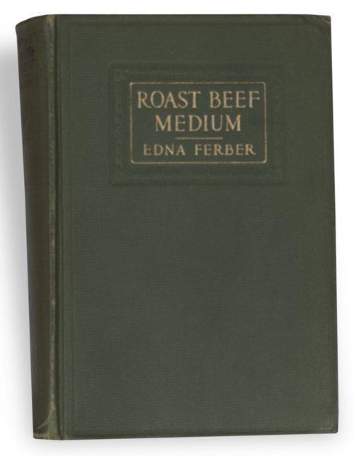 Edna Ferber inscribed book - Page