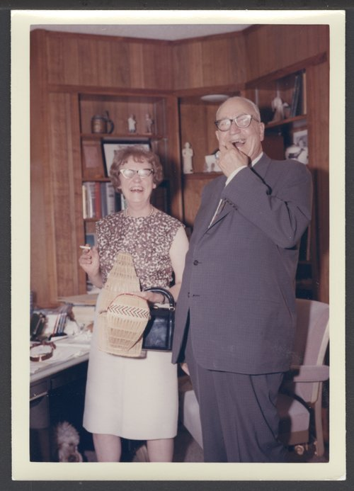 Dr. Karl and Jean Menninger in 1967 - Page