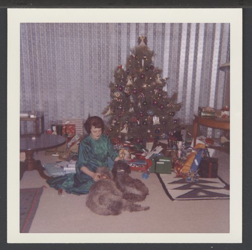 Christmas 1964 at the Karl Menninger residence in Topeka, Kansas - Page