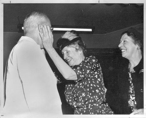 Dr. Karl Menninger and Helen Keller - Page