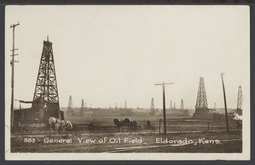 Oil field, El Dorado, Kansas - Page