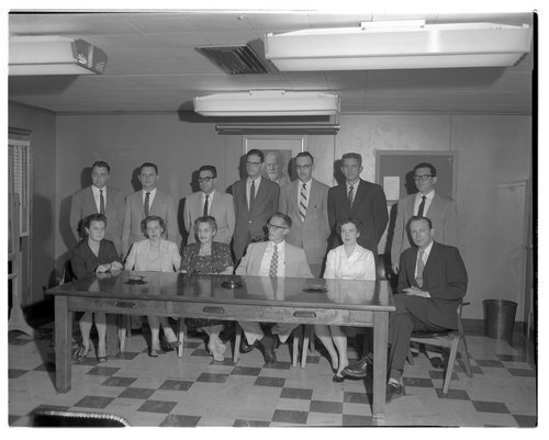 Staff of the Menninger Outpatient Department in Topeka, Kansas - Page