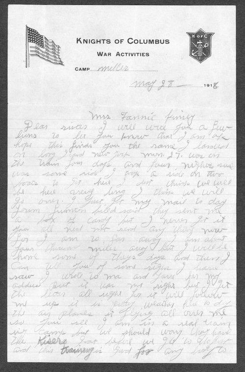 Arthur W. Green, World War I soldier - Page