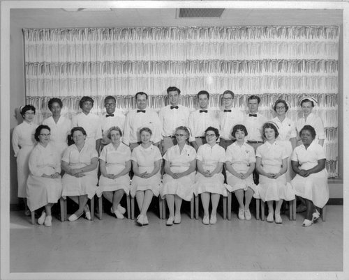 Menninger Clinic nursing staff in 1959 in Topeka, Kansas - Page