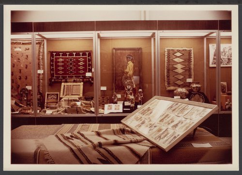 Native American exhibits in the Menninger Museum - Page