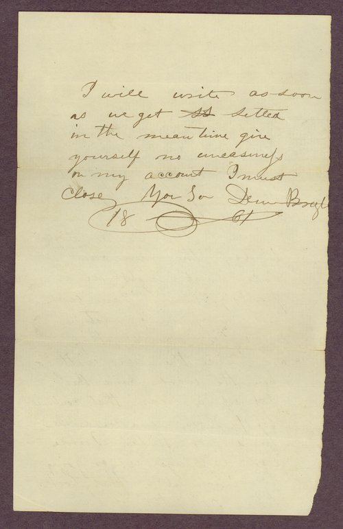 Abbie Bright correspondence - Page