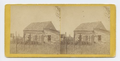 House and well where Jim Lane shot Capt. Jenkins, Lawrence, Kansas. 323 miles west of St. Louis, Mo. - Page