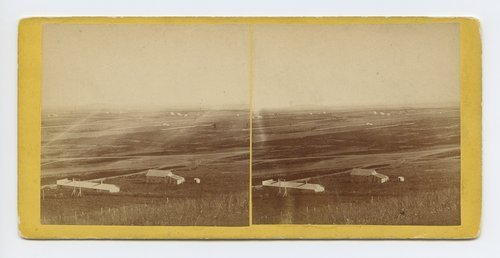 Waukerusa [i.e. Wakarusa] Valley (Blue Mount in distance) from Fort, Lawrence, Kansas. 323 miles west of St. Louis, Mo. - Page