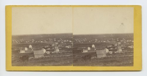 View in Waukerusa. [Wakarusa] Valley, Kansas. 323 miles west of St. Louis, Mo. - Page