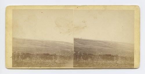 View looking north west from Mount Oriad [i.e. Oread], Lawrence, Kansas. 323 miles west of St. Louis, Mo. - Page