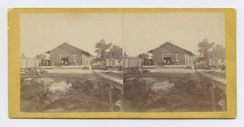 Depot Leavenworth, Kansas. 309 miles west of St. Louis, Mo. - Page