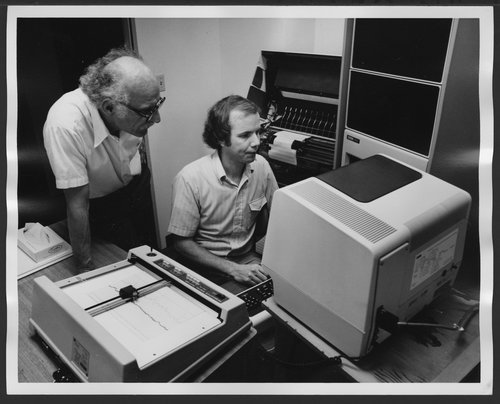 Research at the Menninger Foundation (Topeka, Kansas)  using computers - Page