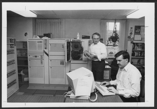 Computer Department at the Menninger Clinic in Topeka, Kansas - Page