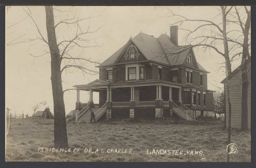 A. L. Charles' home in Lancaster, Kansas - Page