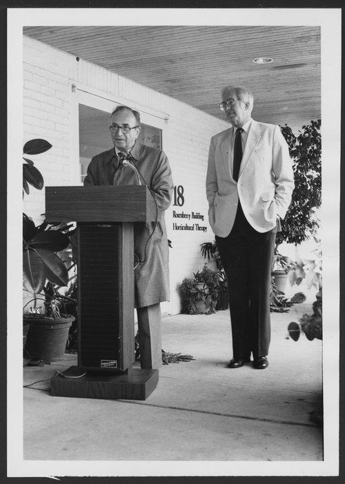 Dedication of Rosenberry Building at Menninger Clinic in Topeka, Kansas - Page