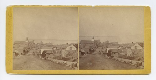 Fifth Street, Leavenworth, Kansas. 309 miles west of St. Louis, Mo. - Page