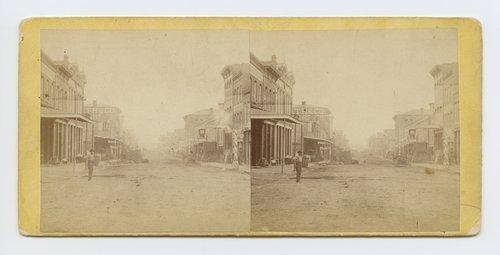Delaware Avenue, Leavenworth, Kansas. 309 miles west of St. Louis, Mo. - Page