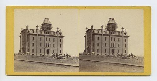 Public school, Leavenworth, Kansas. 309 miles west of St. Louis, Mo. - Page