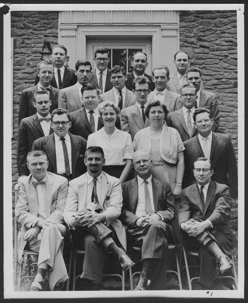 Research staff at Menninger Clinic, Topeka, Kansas - Page