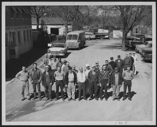 Maintenance crew at Menninger Clinic in Topeka, Kansas - Page