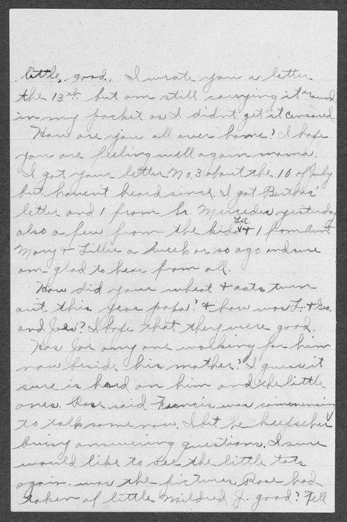 Joseph Martin Gress, World War I soldier - Page
