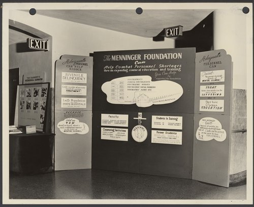An early exhibit about the Menninger Foundation in Topeka, Kansas - Page
