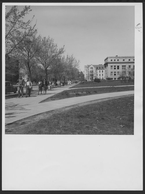 Campus scenes, University of Kansas, Lawrence - Page