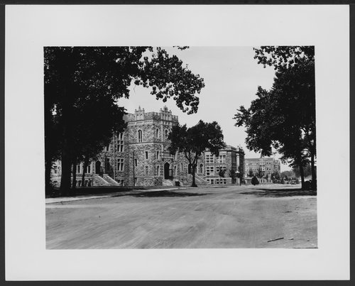 Campus scene, University of Kansas - Page