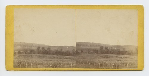 View from Moore's Summit, on branch road between Lawrence & Leavenworth, Kansas - Page