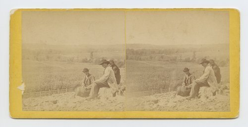 View of prairie from Moore's Summit, on branch road between Lawrence & Leavenworth, Kansas - Page