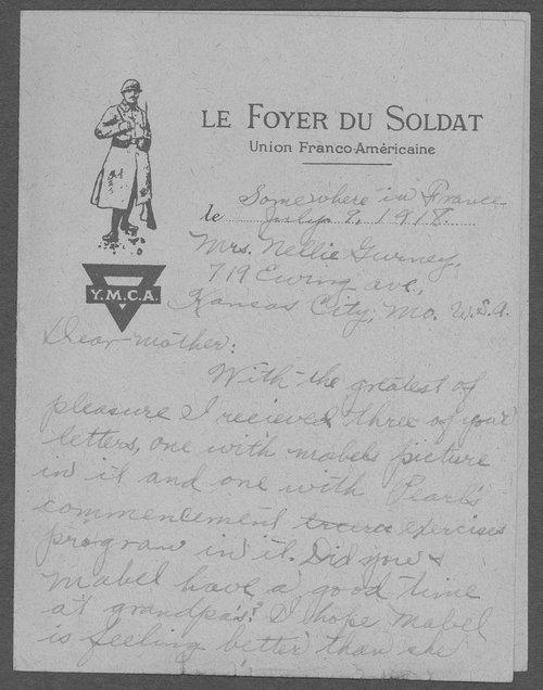 Frank Stephen Gurney, World War I soldier - Page