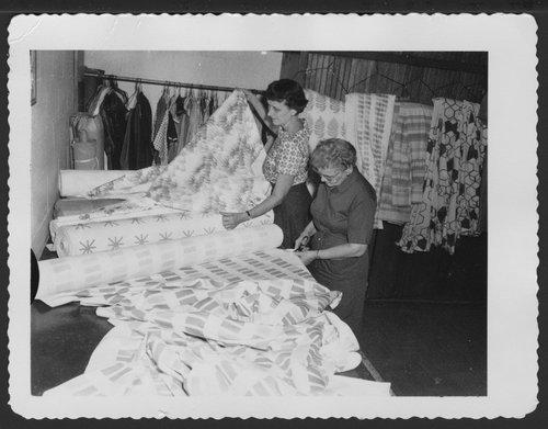 The sewing room at Menninger Clinic in Topeka, Kansas - Page