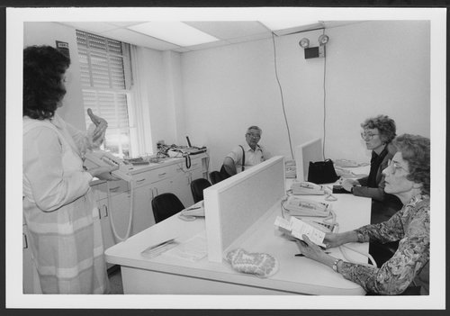 Telephone systems, 1967 and 1987, at Menninger Clinic in Topeka, Kansas - Page