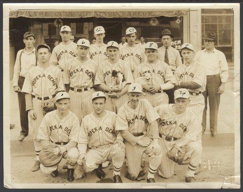 Topeka Demo baseball team in Topeka, Kansas - Page